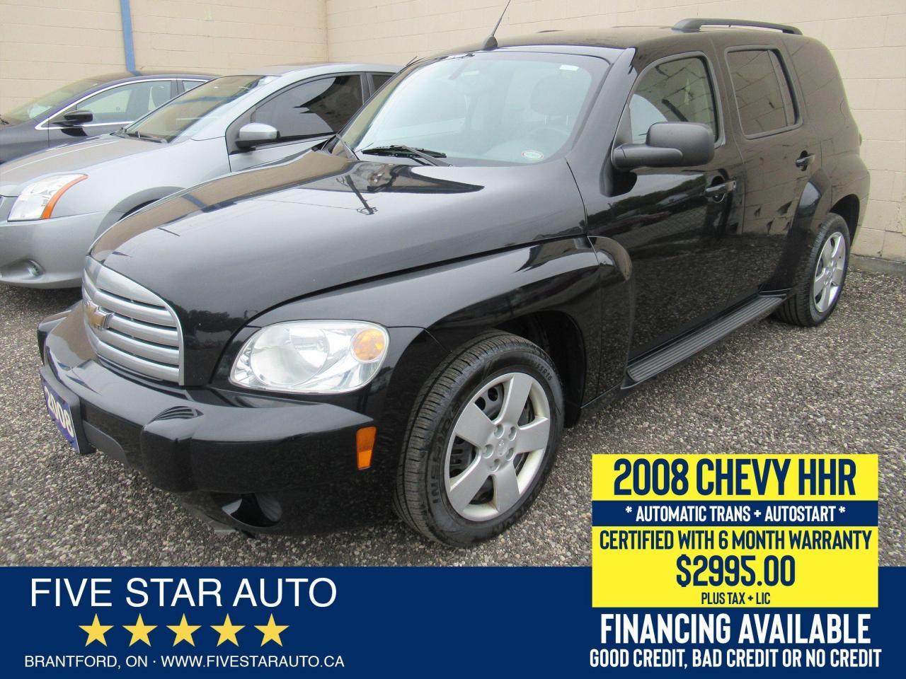 2008 Chevrolet HHR LS - Certified w/ 6 Month Warranty