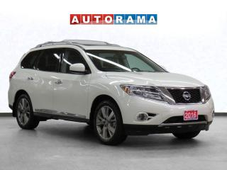 Used 2016 Nissan Pathfinder Platinum AWD Navigation Leather Sunroof Bcam for sale in Toronto, ON