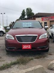 Used 2013 Chrysler 200 Limited for sale in Orillia, ON