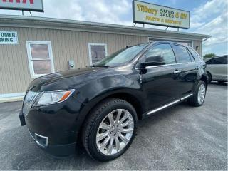 Used 2013 Lincoln MKX Base for sale in Tilbury, ON