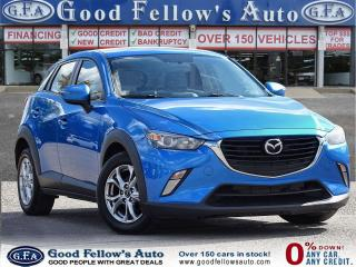 Used 2016 Mazda CX-3 GS MODEL, REARVIEW CAMERA, HEATED SEAT, MOONROOF, for sale in Toronto, ON