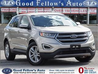 Used 2017 Ford Edge SEL MODEL, AWD, REARVIEW CAMERA, HEATED SEATS for sale in Toronto, ON