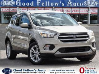 Used 2017 Ford Escape SE MODEL, 1.5 ECO, REARVIEW CAMERA, HEATED SEATS for sale in Toronto, ON