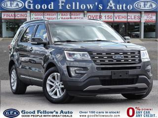 Used 2016 Ford Explorer XLT MODEL, 2.3L ECO, LEATHER SEATS, 7 PASSANGER for sale in Toronto, ON