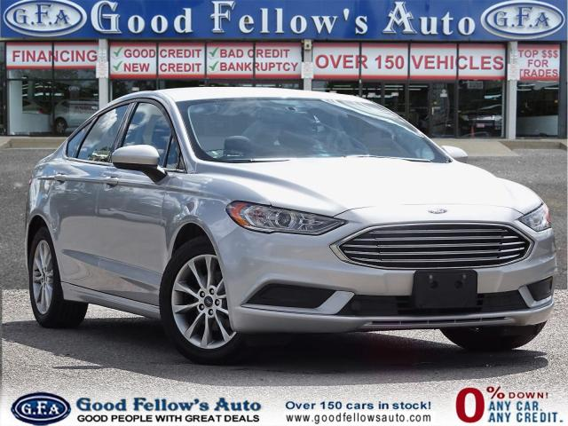 2017 Ford Fusion SE MODEL, REARVIEW CAMERA, POWER SEATS, 2.5L