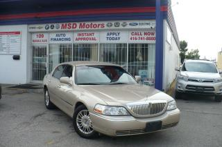 Used 2011 Lincoln Town Car Signature Limited LOW KM for sale in Toronto, ON