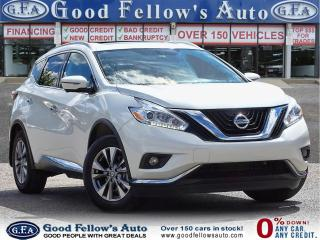 Used 2016 Nissan Murano SL MODEL,PARKING ASSIST REAR, 360` CAMERA,NAV, AWD for sale in Toronto, ON