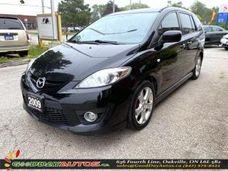 Used 2009 Mazda MAZDA5 GT|SUNROOF|NAVI|DVD|HEATED SEATS|CERTIFIED for sale in Oakville, ON
