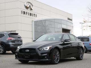 New 2020 Infiniti Q50 Red Sport I-LINE 400 Horsepower, Sunroof, Navigation! for sale in Winnipeg, MB