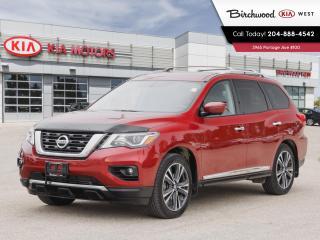 Used 2017 Nissan Pathfinder Platinum AWD*, Leather interior, sunroof, 7 passenger for sale in Winnipeg, MB