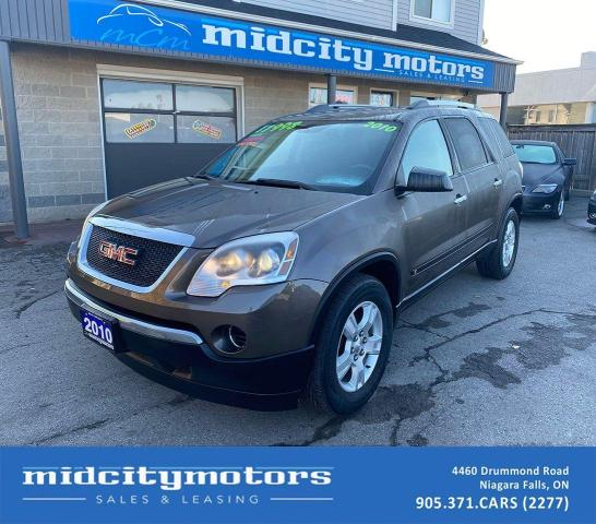 2010 GMC Acadia SLE1 | 7-PASSENGERS | LOW KMs | SAFETY CERTIFIED