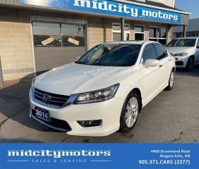 Used 2014 Honda Accord EX-L V6 | 3.5L | SUNROOF | LEATHER | CLEAN CARFAX for sale in Niagara Falls, ON