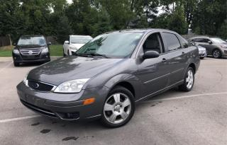 Used 2007 Ford Focus **MINT CONDITION/LEATHER/SUNROOF/ONLY 57000 KMS** for sale in Hamilton, ON