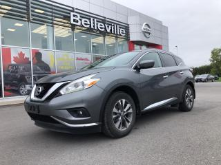 Used 2016 Nissan Murano SV FWD sunroof, alloy's, power seat, roof rails for sale in Belleville, ON