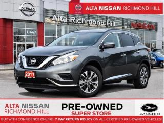 Used 2017 Nissan Murano S   Navi   Push Start   Heated Seats   Back-UP for sale in Richmond Hill, ON