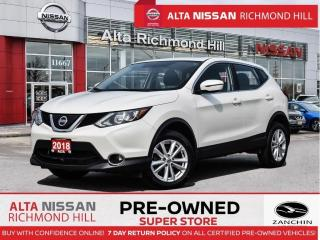 Used 2018 Nissan Qashqai SV   Moonroof   Fogs   Push Start   Heated Seats for sale in Richmond Hill, ON