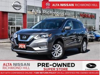 Used 2018 Nissan Rogue SV AWD   Apple Carplay   Blind Spot   Remote Start for sale in Richmond Hill, ON