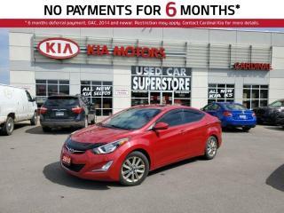 Used 2015 Hyundai Elantra Sport, Sunroof, Heated Seats, Bluetooth. for sale in Niagara Falls, ON