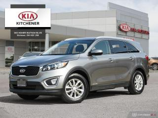 Used 2017 Kia Sorento LX V6 - ONE OWNER!! for sale in Kitchener, ON