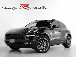 Used 2017 Porsche Macan S I PREM PKG PLUS I SPORTS CHRONO I NAVI I PANO for sale in Vaughan, ON