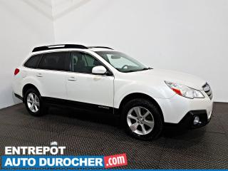Used 2014 Subaru Outback 2.5i Limited AWD NAVIGATION - Toit Ouvrant - CUIR for sale in Laval, QC