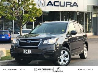 Used 2018 Subaru Forester 2.5i CVT for sale in Markham, ON