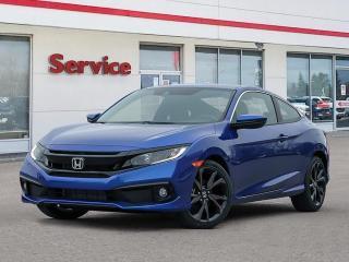New 2020 Honda Civic Coupe Sport CVT for sale in Brandon, MB
