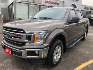 Used 2018 Ford F-150 Xlt Supercrew 4x4 V6 for sale in Hamilton, ON