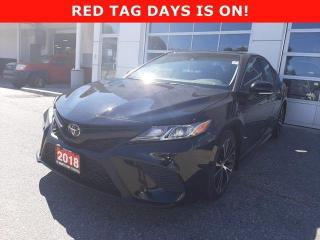 Used 2018 Toyota Camry SE Auto for sale in North Bay, ON