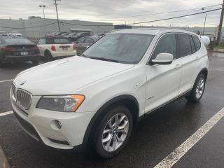 Used 2013 BMW X3 28i *Extra Clean! *GPS *Toit-Ouvrant/Sunroof for sale in Saint-Hubert, QC