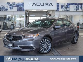 Used 2018 Acura TLX Tech, One Owner, No accidents, Acura certified War for sale in Maple, ON