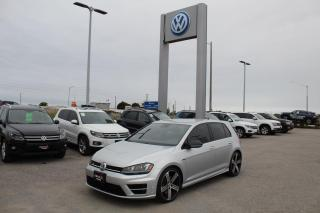 Used 2016 Volkswagen Golf R 2.0L DSG for sale in Whitby, ON