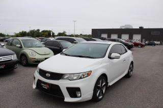 Used 2012 Kia Forte Koup 2.4L SX for sale in Whitby, ON