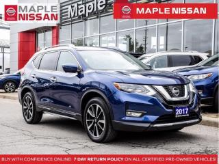 Used 2017 Nissan Rogue SL AWD Blind Spot Apple Carplay Navi Pano Moonroof for sale in Maple, ON