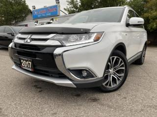Used 2017 Mitsubishi Outlander AWC 4dr GT  7 PASSENGER ACCIDENT FREE ONE OWNER for sale in Brampton, ON