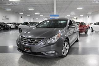 Used 2011 Hyundai Sonata LIMITED I NO ACCIDENTS I LEATHER I SUNROOF I HEATED SEATS for sale in Mississauga, ON