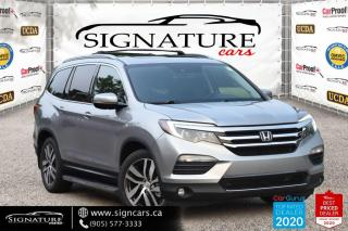 Used 2016 Honda Pilot AWD. TOURING. ONE OWNER. NO ACCIDENT. PANO SUNROOF. for sale in Mississauga, ON