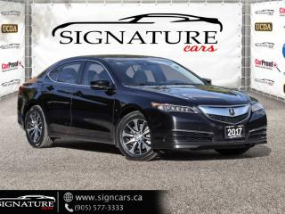 Used 2017 Acura TLX FWD TECH PKG. LANESENSE. NAV. ALL OPTIONS* for sale in Mississauga, ON