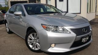 Used 2014 Lexus ES 350 Sedan - LEATHER! SUNROOF! BACK-UP CAM! ACCIDENT FREE! for sale in Kitchener, ON