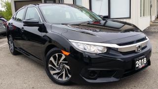 Used 2018 Honda Civic EX Honda Sensing Sedan CVT - BACK-UP/BLIND-SPOT CAM! SUNROOF! CARPLAY for sale in Kitchener, ON