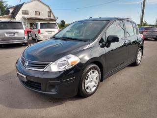 Used 2010 Nissan Versa 1.8 S Hatchback for sale in Dunnville, ON