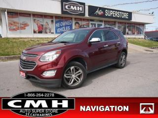 Used 2016 Chevrolet Equinox LTZ  NAV CAM ROOF LEATH P/GATE HTD-SEATS for sale in St. Catharines, ON
