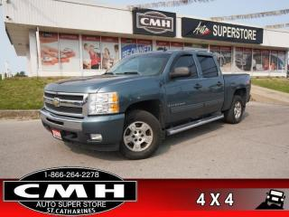 Used 2009 Chevrolet Silverado 1500 LT  4X4 Z71-PKG P/SEAT BT TOW-PKG for sale in St. Catharines, ON