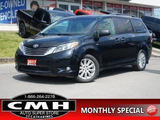 Used 2017 Toyota Sienna XLE AWD 7-Passenger  NAV CAM ROOF LEATH 18-AL for sale in St. Catharines, ON