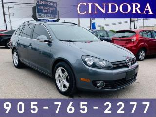 Used 2011 Volkswagen Golf Wagon Comfortline, Auto, Pano Roof, Leather for sale in Caledonia, ON