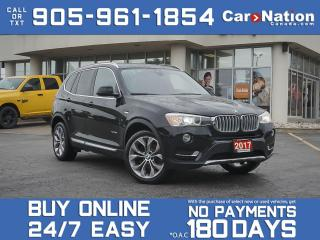 Used 2017 BMW X3 xDrive28i| LOCAL TRADE| NAVI| PANO ROOF| for sale in Burlington, ON