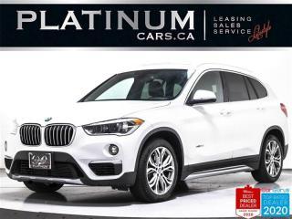 Used 2016 BMW X1 xDrive28i, PREMIUM, NAV, PANO, CAM, HUD, HEATED for sale in Toronto, ON