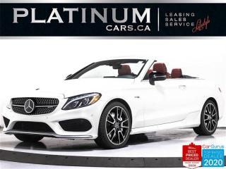 Used 2017 Mercedes-Benz C-Class AMG C43, CONVERTIBLE, 362HP, AWD, NAV, CAM, HEATED for sale in Toronto, ON