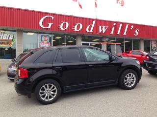 Used 2013 Ford Edge SEL! CLEAN CARFAX! HEATED LEATHER! NAV! B/T! ROOF! for sale in Aylmer, ON