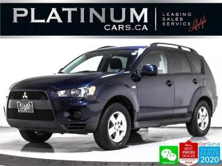 Used 2011 Mitsubishi Outlander ES, AWD, KEYLESS, PUSH START, BLUETOOTH, POWER for sale in Toronto, ON